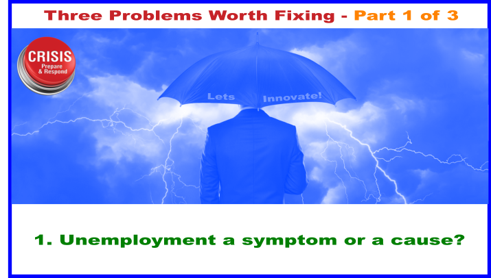 Unemployment - a symptom or a cause?