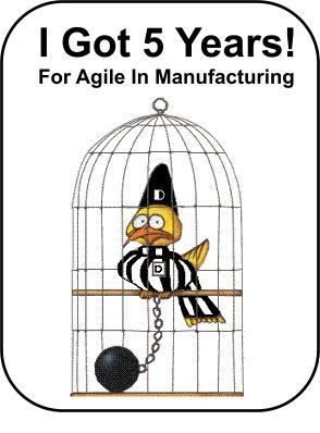 I Got Five Years For Agile In Manufacturing