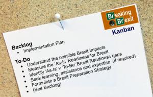Breaking Brexit Kanban