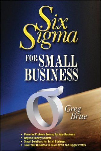 Six Sigma for Small Business Book Cover