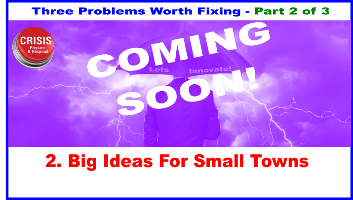 Big Ideas For Small Towns