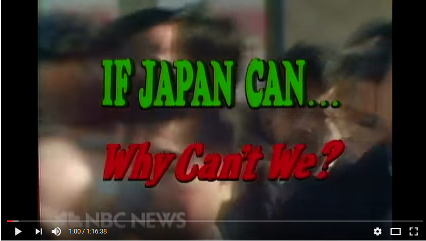 NBC If Japan Can Why Cant We