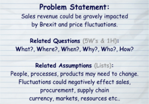 Brexit Problem Statement
