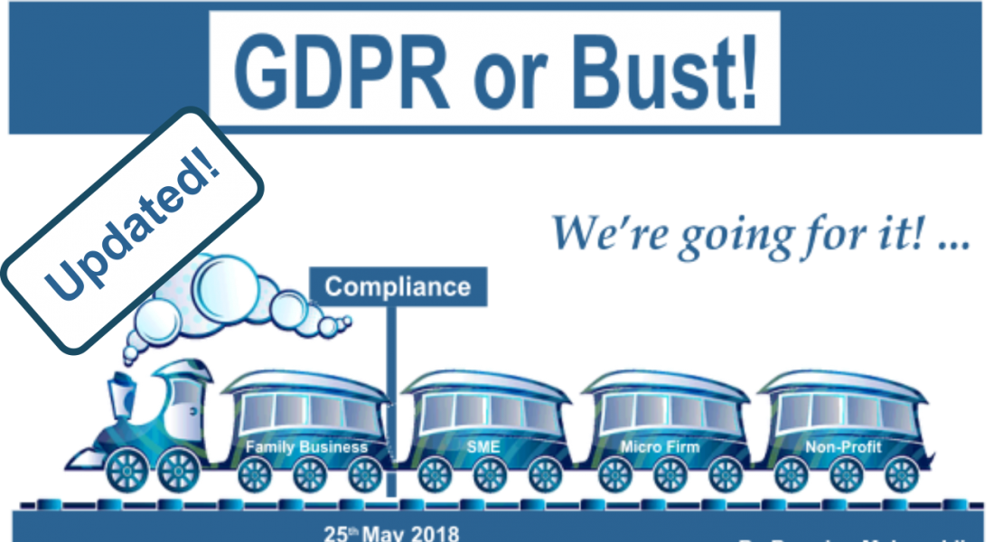 gdpr or bust updated