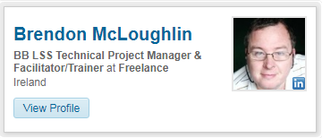 Brendon McLoughlin LinkedIn Profile